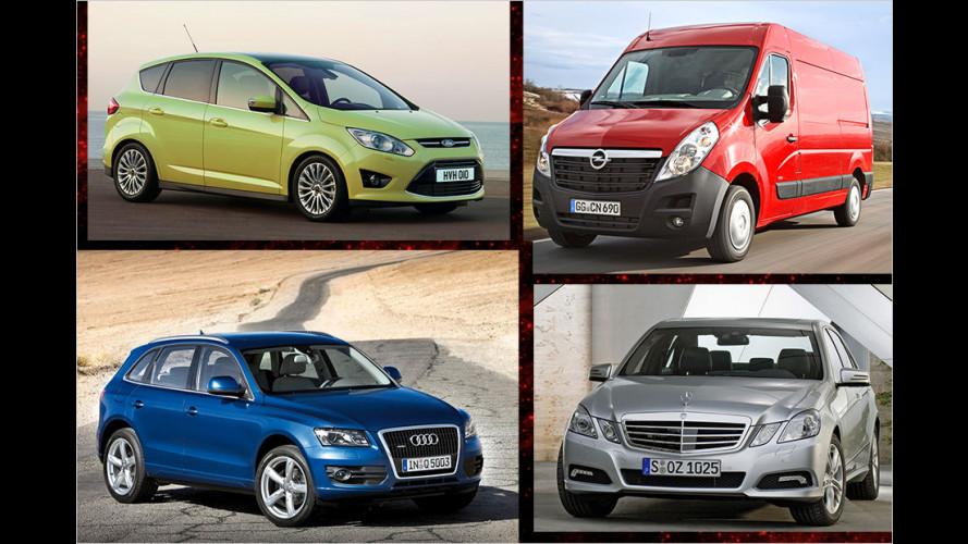 Dekra-Gebrauchtwagenreport 2015: Deutsche Autos sind die besten Gebrauchten