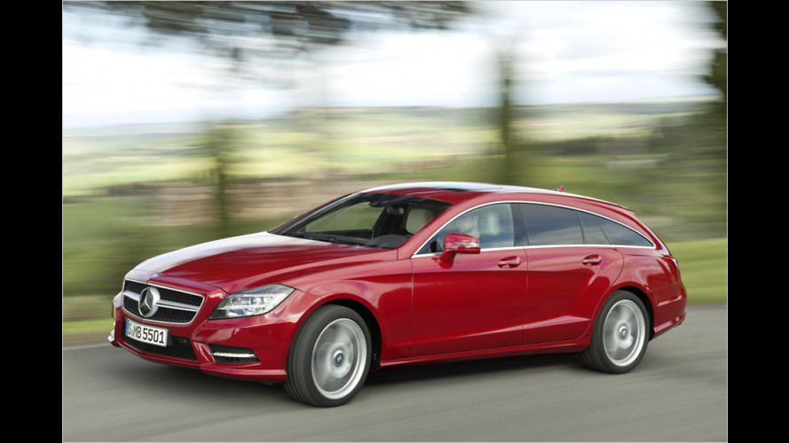 Mercedes bringt den CLS Shooting Brake
