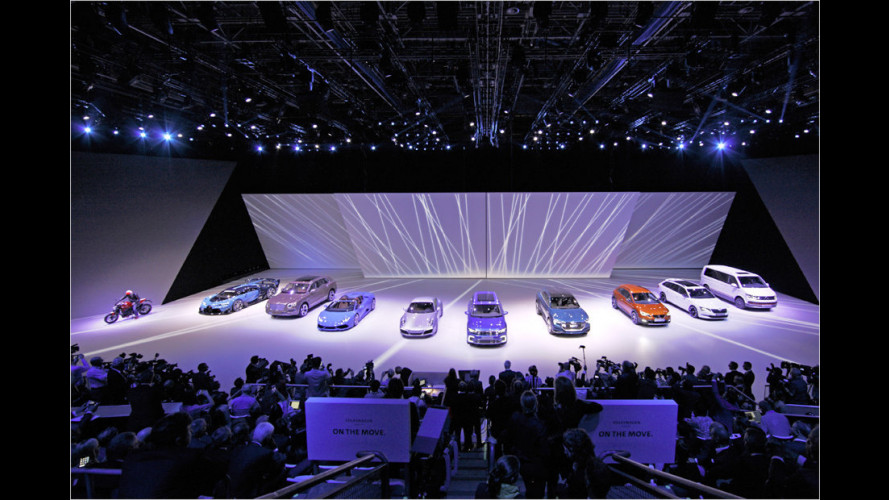 IAA 2015: Die Highlights des VW-Konzerns
