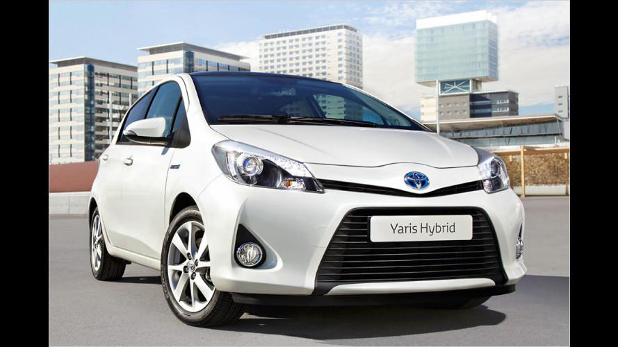 Premiere für Yaris Hybrid