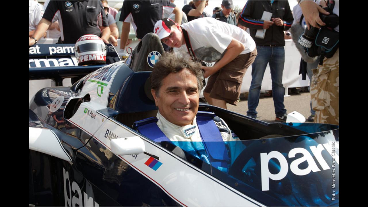 Nelson Piquet im Brabham BT52