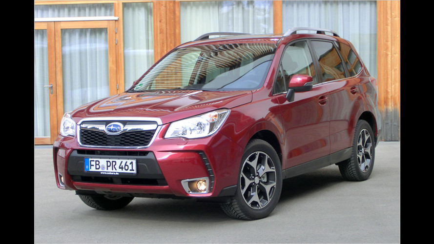 Subaru Forester 2.0D Lineartronic (2015) im Test