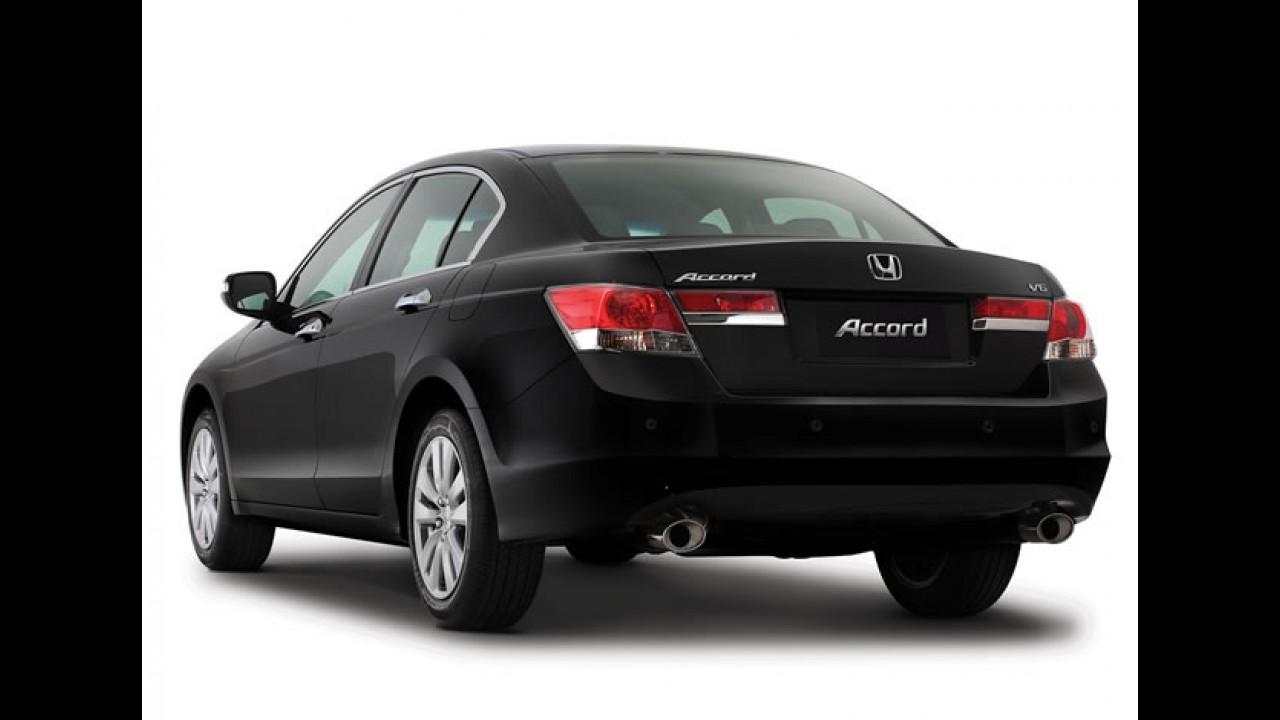Honda Accord passa a ser oferecido apenas sob encomenda