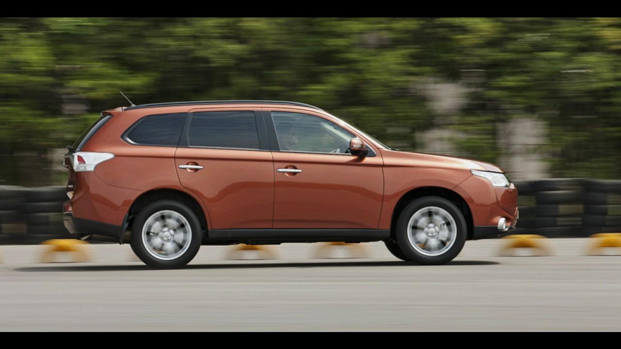 Mitsubishi inicia vendas da nova geração do crossover Outlander na Europa