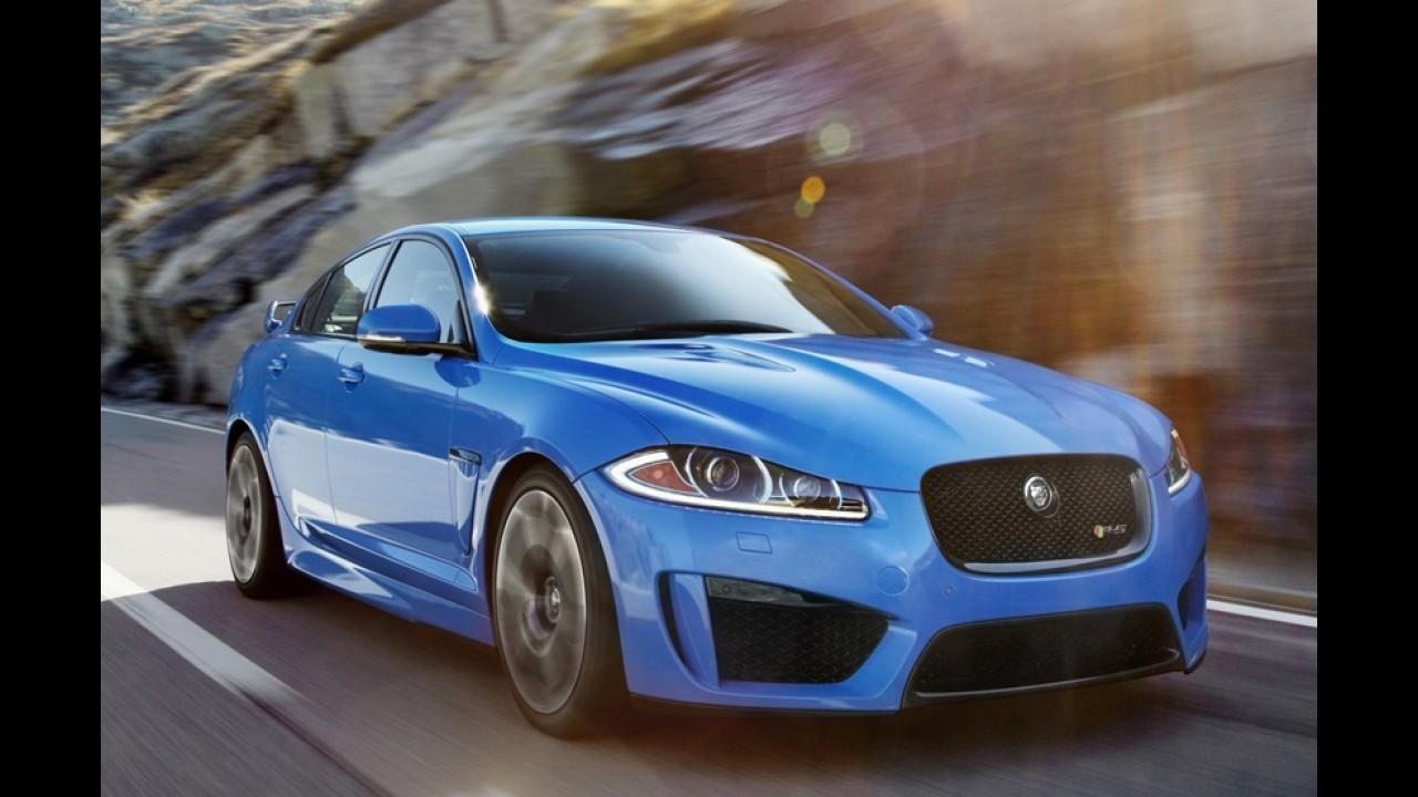 Jaguar XFR-S é oficialmente apresentado - Sedã esportivo também estará em Los Angeles