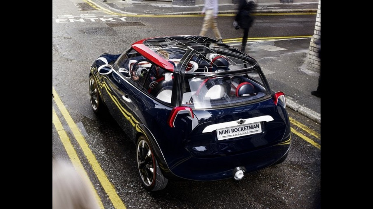 MINI Rocketman Concept é revelado