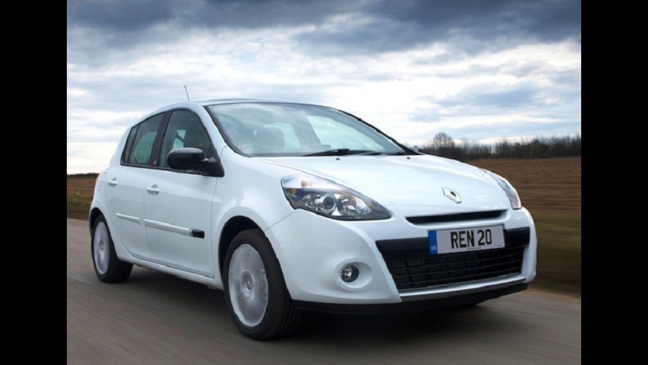 Veja a lista dos carros mais vendidos na França em maio de 2012