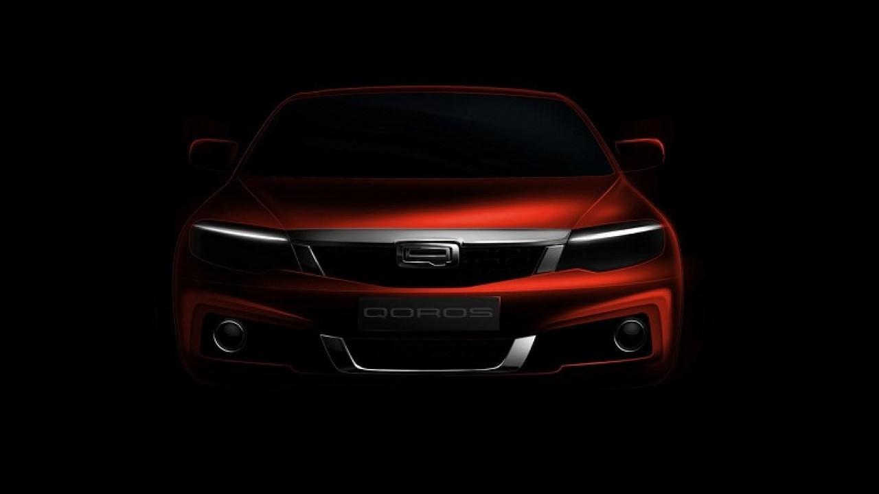 Chinês premium: Qoros confirma apresentação de novo modelo em Genebra