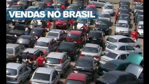 Brasil, março de 2011: Vendas do trimestre crescem quase 4%