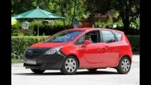 Flagra: Opel Meriva 2013 é flagrada com pouca camuflagem
