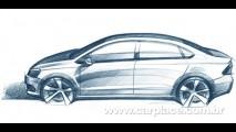 Segredo: Surge imagem de possível Novo Polo Sedan