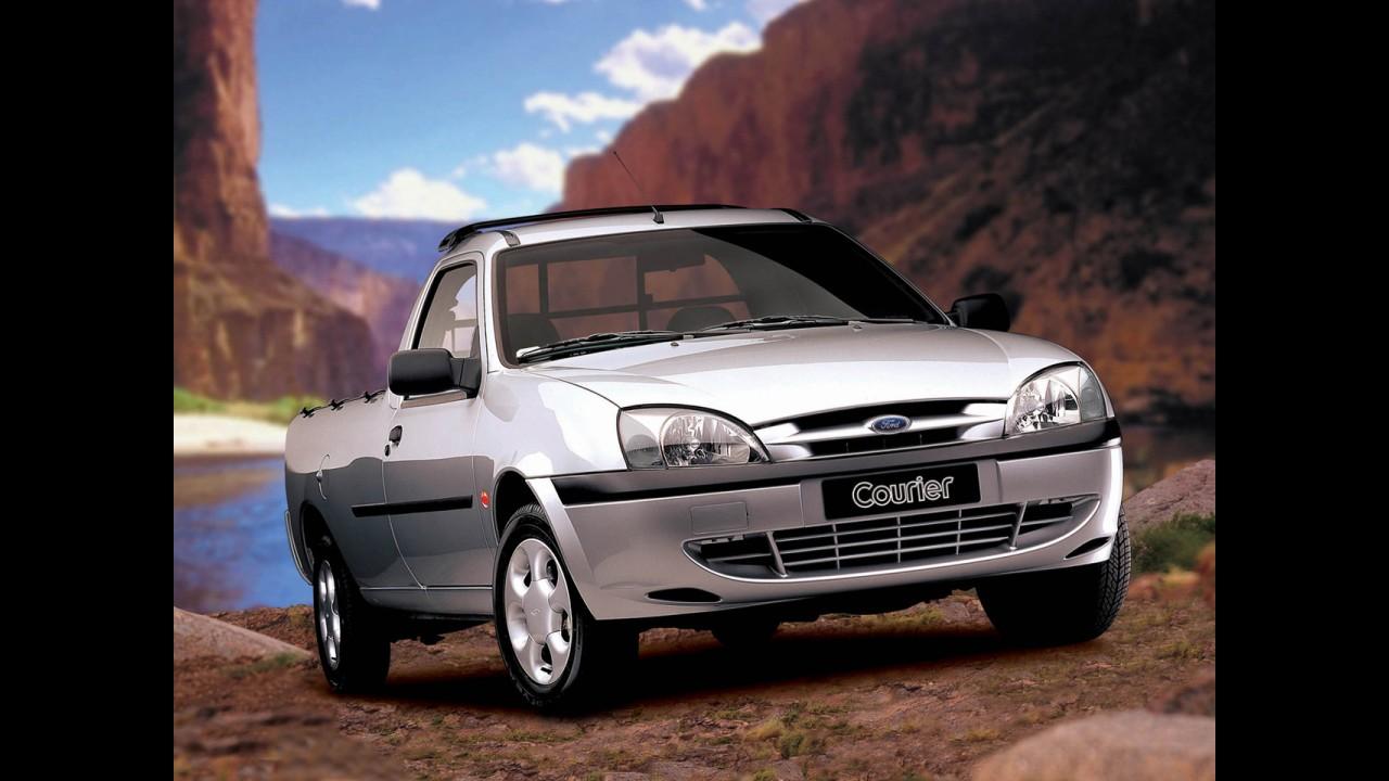Fim de linha: Ford encerrará produção da picape Courier em fevereiro