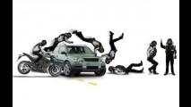 Projeto que obriga motociclista a usar colete com airbag passa por comissão no Senado
