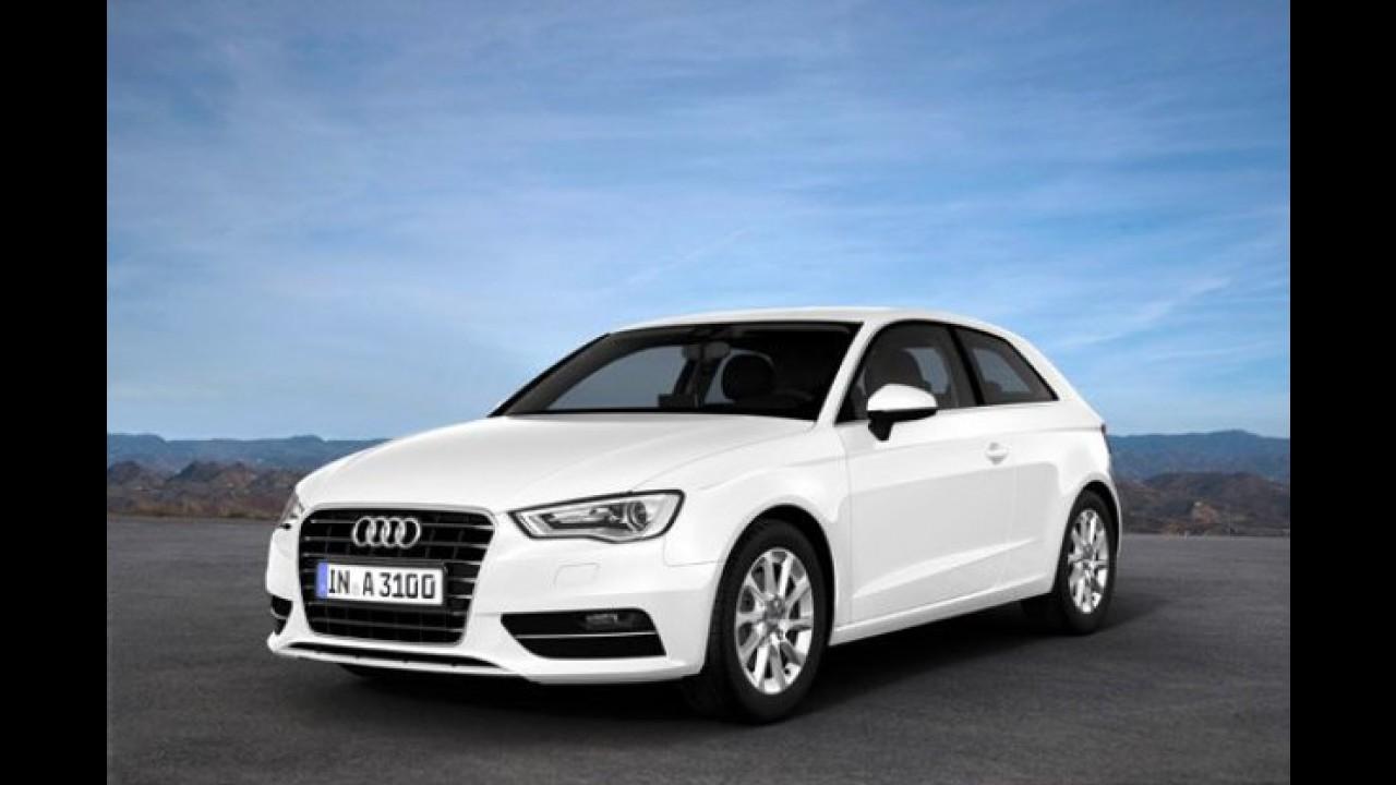 Audi A3 Ultra é versão super econômica com consumo de 31,2 km/l