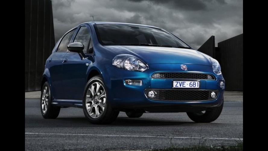 Fiat Punto é lançado na Austrália com motor 1.4 e preço equivalente a R$ 33 mil