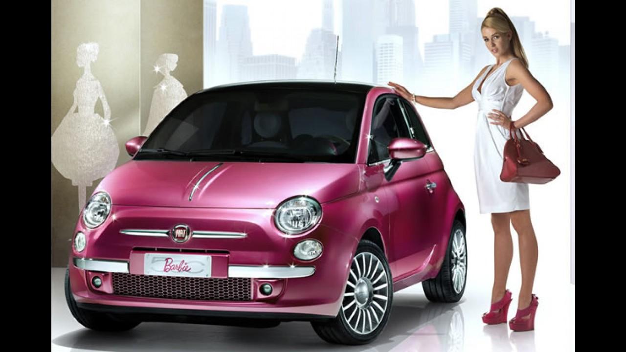 Para Meninas Fiat 500 Ganha Serie Limitada Pink Edition No Reino Unido