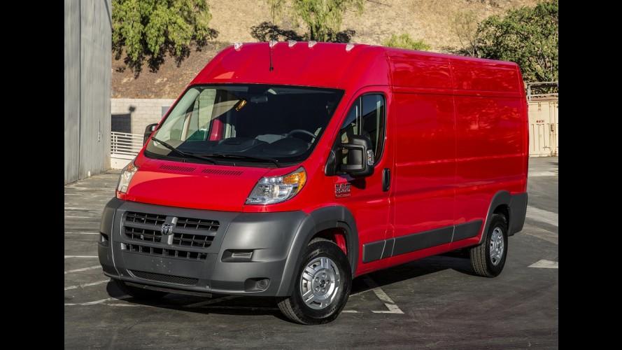 RAM ProMaster, irmã da Fiat Ducato, tem recall nos EUA por risco de corrosão