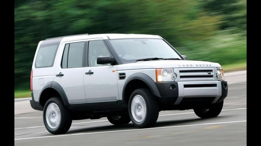 Land Rover anuncia recall do Range Rover Sport e Discovery 3