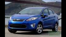 New Fiesta 2011: Nova geração chega em agosto na versão sedan por R$ 49.900