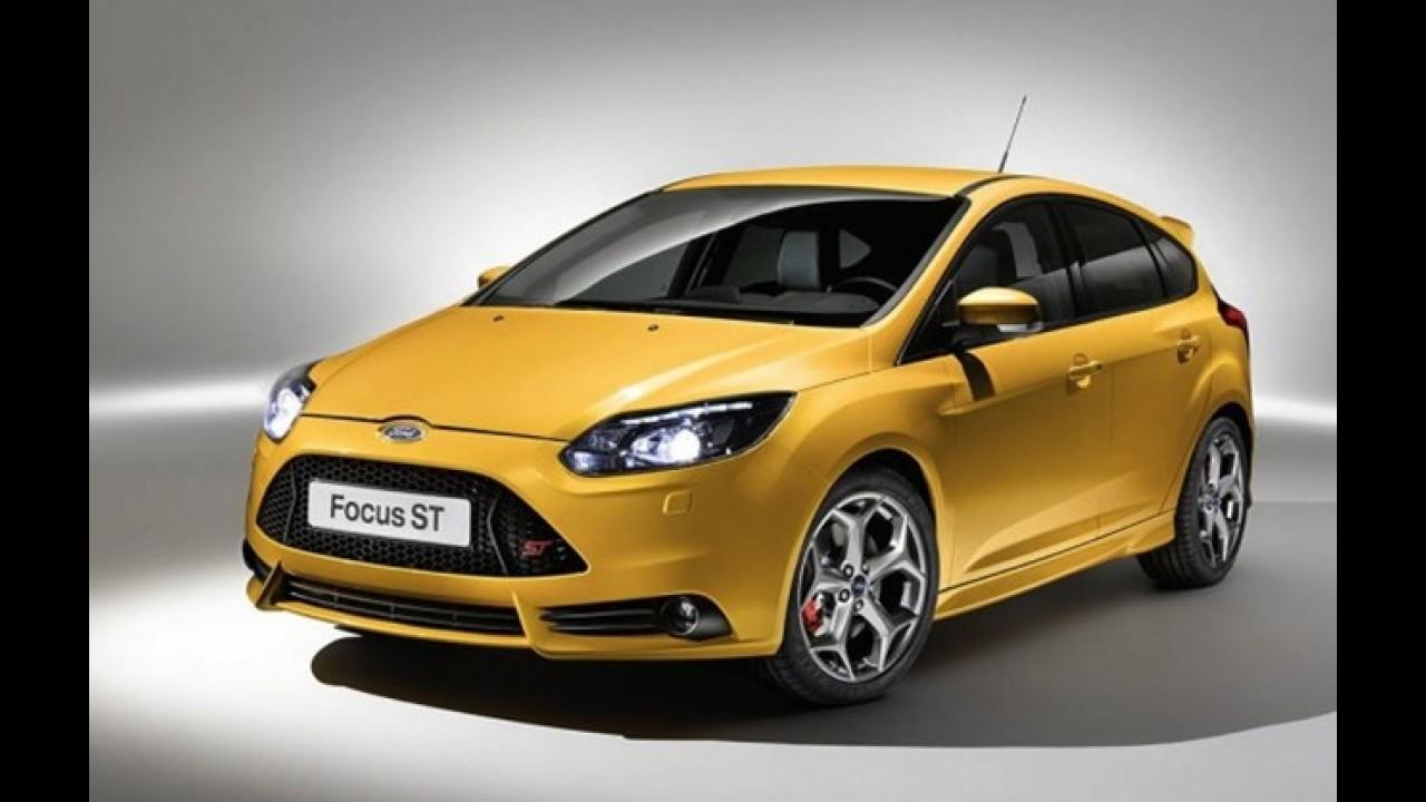 Salão de Los Angeles: New Ford Focus ST em versão final