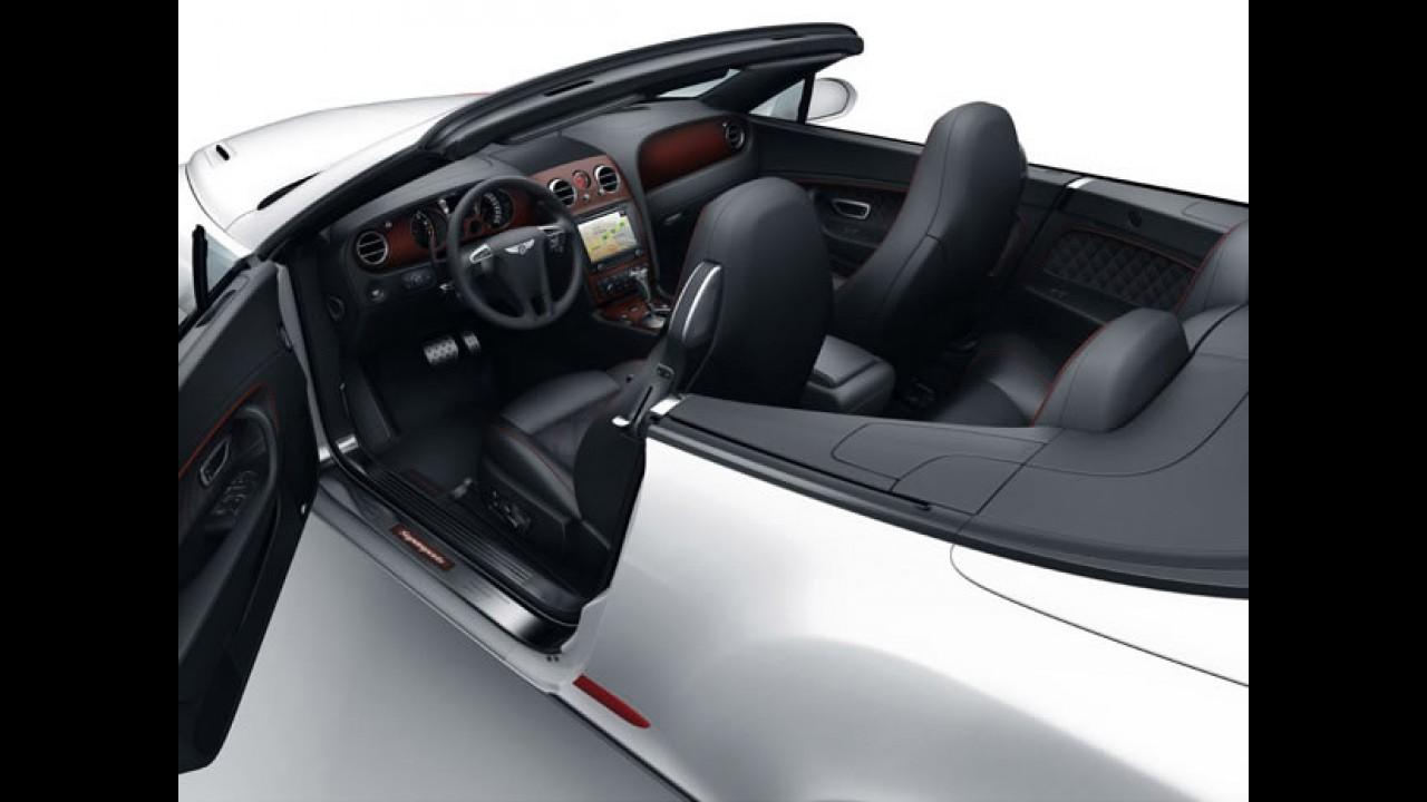 Bentley conversível em traje ainda mais esportivo