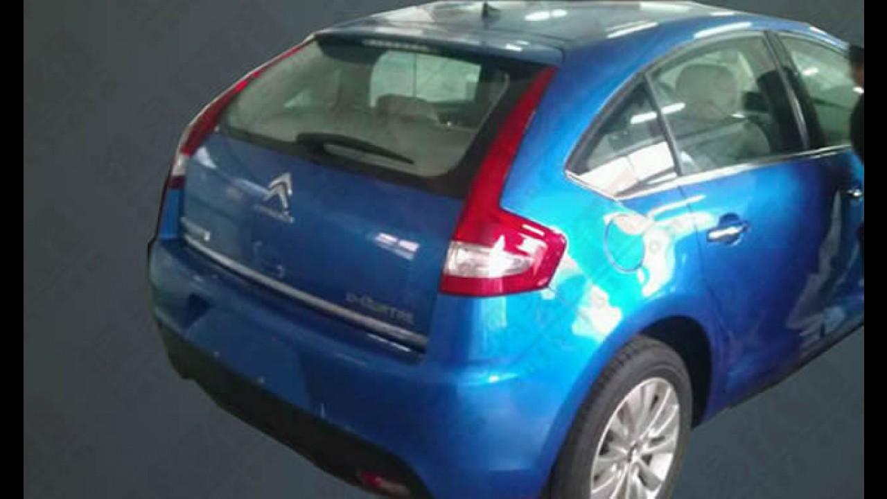 Mais imagens do Citroën C4 Hatch reestilizado chinês - Vem ao Brasil?