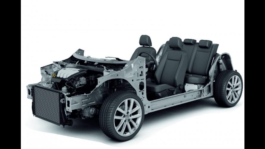 Volkswagen mostra detalhes da plataforma MQB que equipará o Golf VII