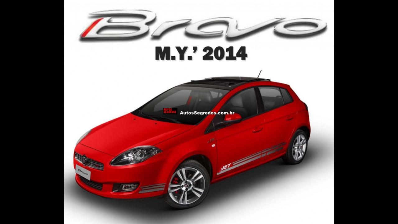 Fiat Bravo 2014 vai mudar pouco e ficar mais caro
