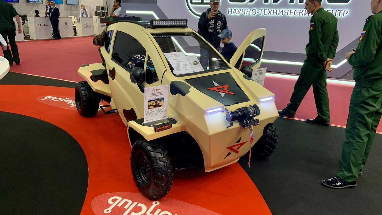 Электромобиль «Эра» Вооруженных Сил Российской Федерации