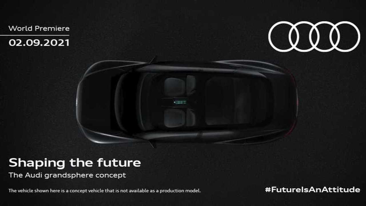Teaser Audi Grandsphere concept