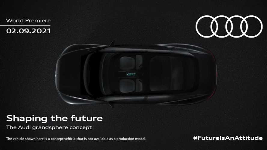 Teaser Audi Grandsphere concept: a la vista una berlina eléctrica
