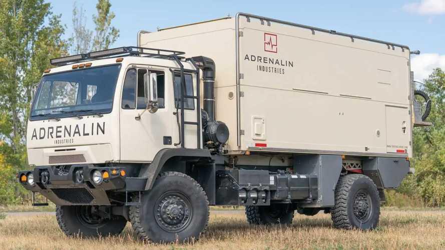 Este camión camper todoterreno se ha vendido por 208.000 euros