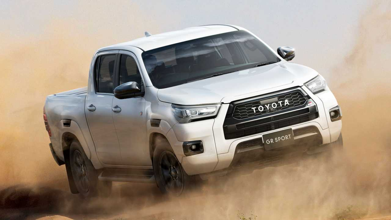 Nova Toyota Hilux GR Sport - Japão