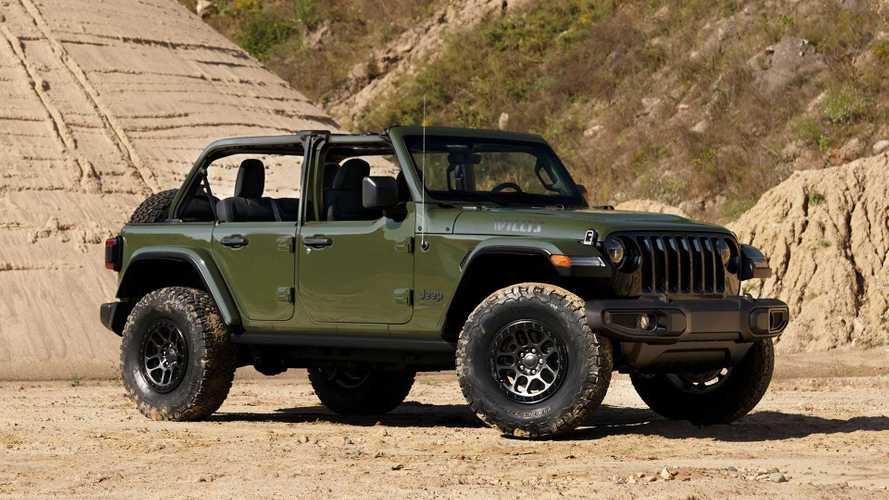Jeep, sınırlı sayıdaki Wrangler Willys Xtreme Recon'u tanıttı