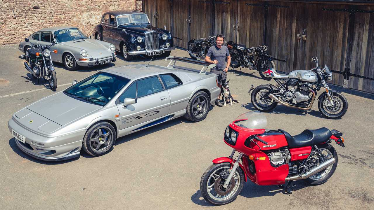 These cars and motorcycles are part of The Grand Tour co-host Richard Hammond's collection and they will be auctioned to the highest bidder on August 1.