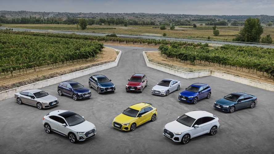 Prueba Gama Audi TFSIe: híbridos enchufables al poder