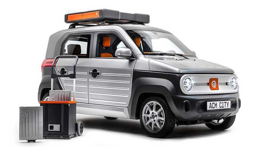 Немцы представили маленький электромобиль с батареей на крыше