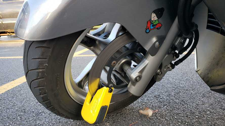 Gear Review: ABUS Granit Detecto SmartX 8078 Motorcycle Lock