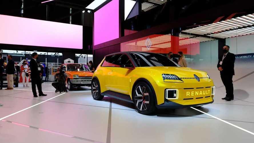 Renault 5 EV Prototype at IAA 2021