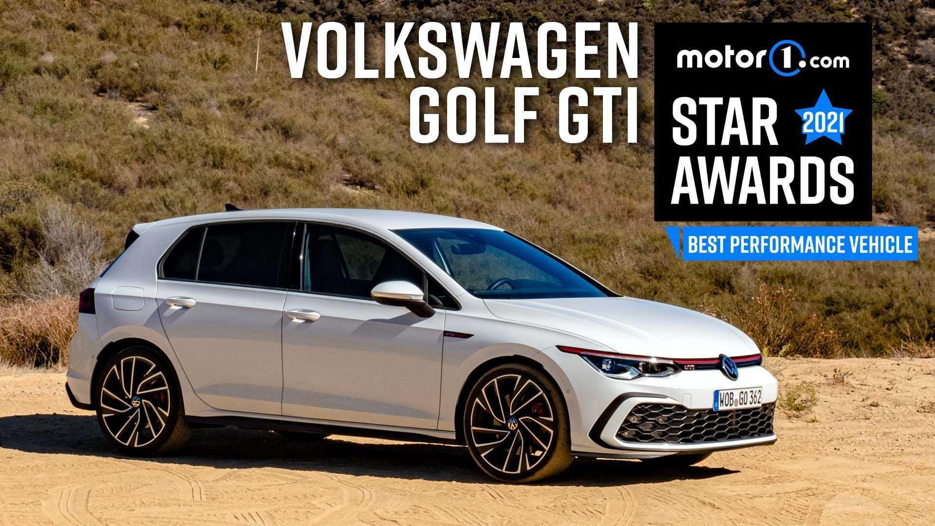 2022 Volkswagen GTI Wins Motor1 Star Award For Best Performance Vehicle