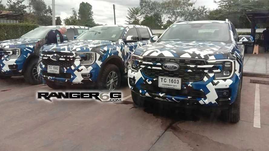 Nova Ford Ranger 2023 é vista nas versões XLT, FX4 e Wildtrack