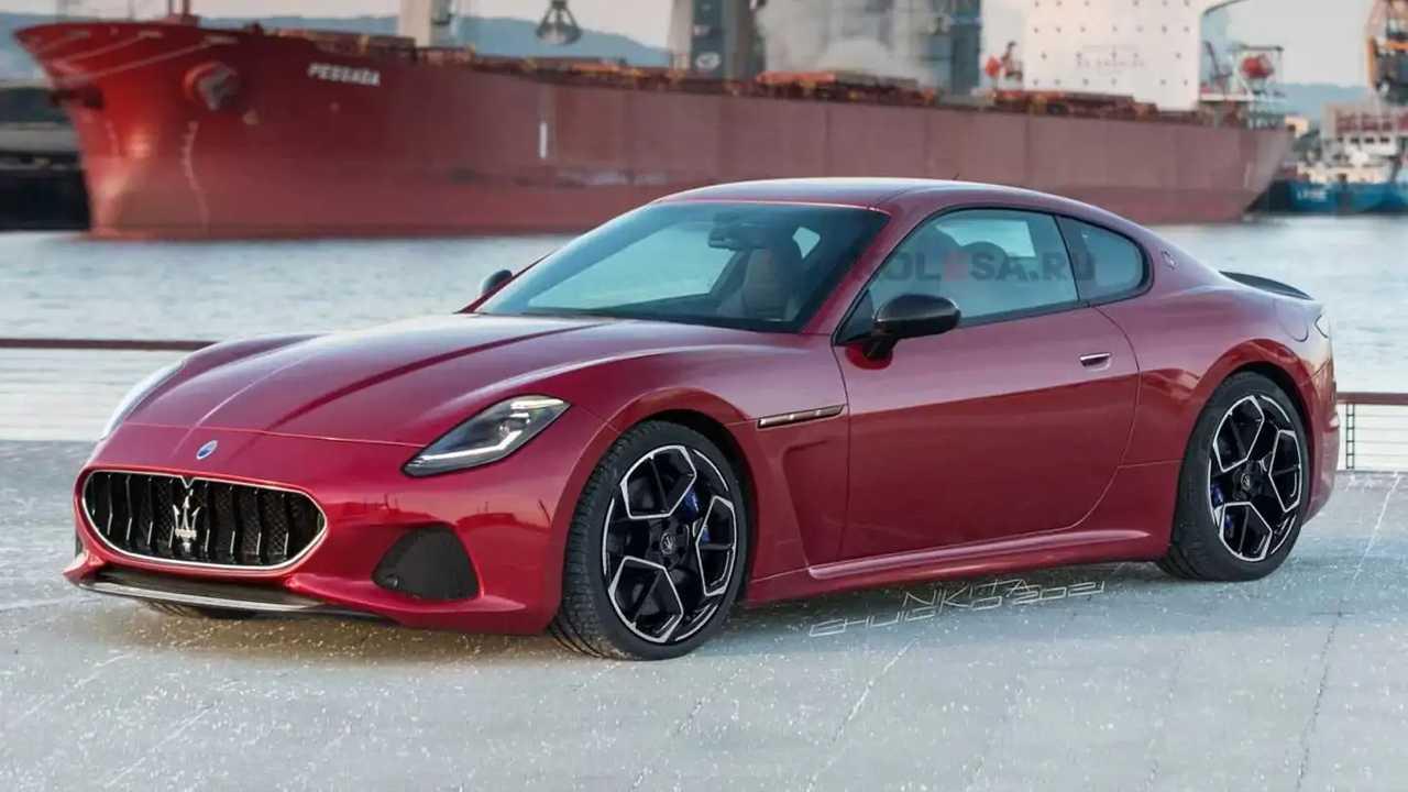 Recreación Maserati GranTurismo 2022