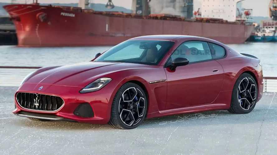 La nouvelle Maserati GranTurismo prend forme en illustration