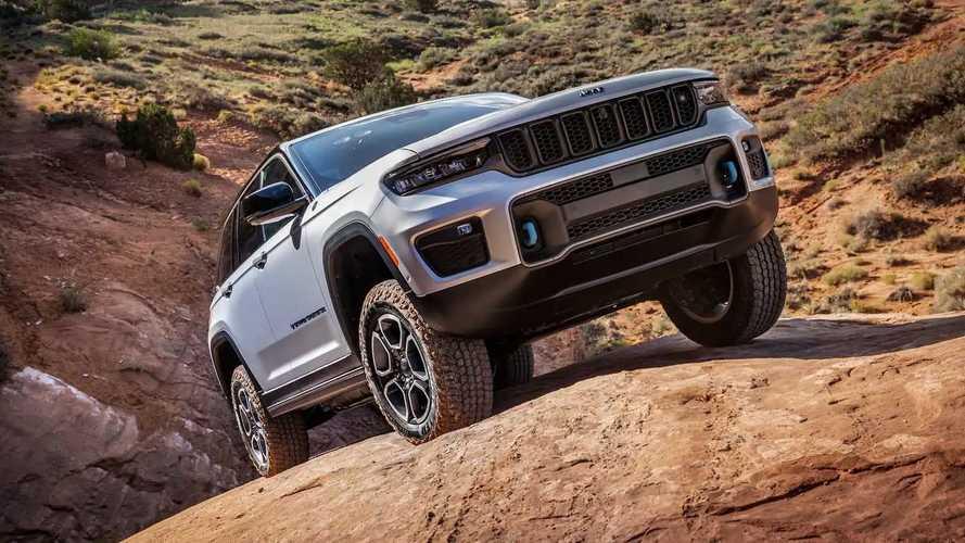 Jeep Grand Cherokee 2022: un todoterreno híbrido enchufable
