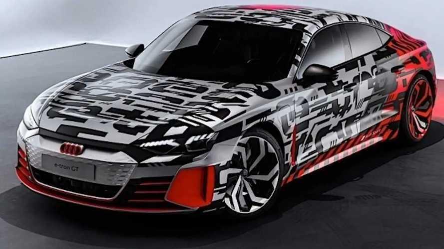Camouflage Audi E-Tron GT Car Cover