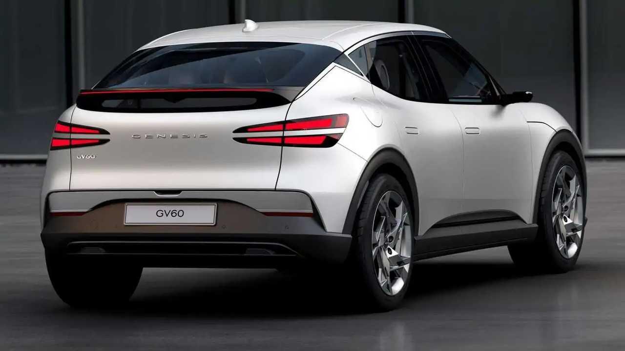 Официальные изображения Genesis GV60