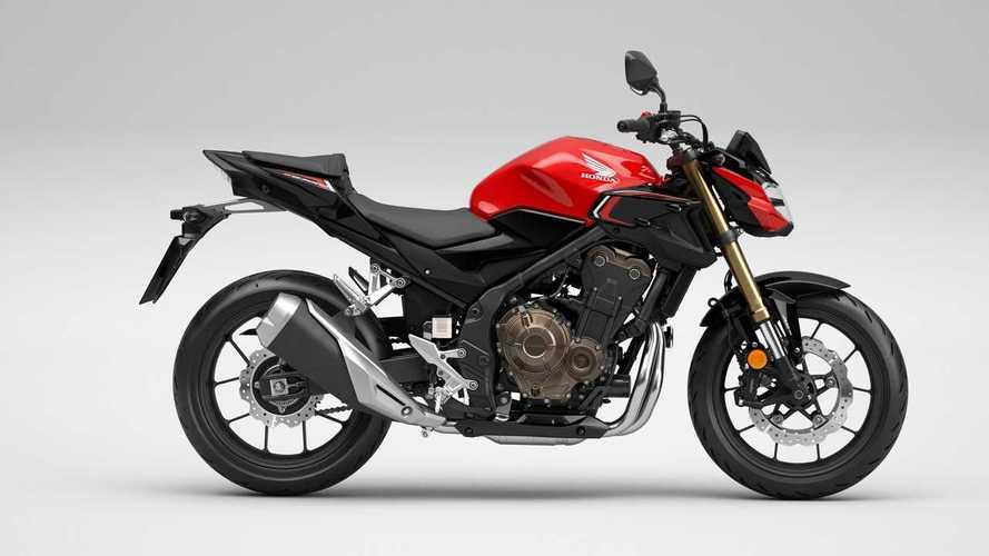 2022 Honda CB500F, CB500R, and CB500X