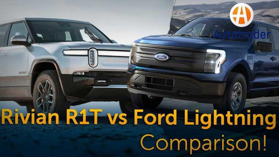 Comparison: Rivian R1T Vs Ford F-150 Lightning