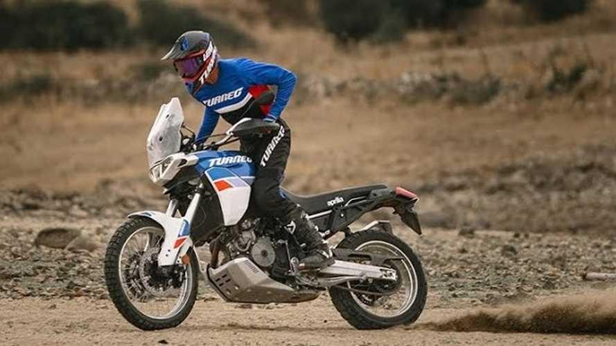 Watch The Aprilia Tuareg 660 Tear Up The Trail In Latest Teaser