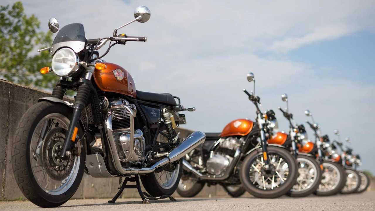 Royal Enfield AMA Vintage Motorcycle Days
